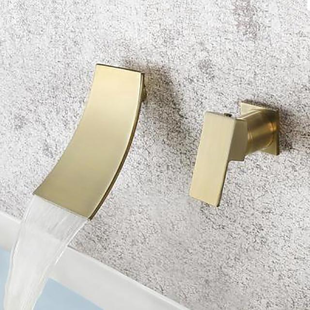 brushed gold sprinkle single handle one
