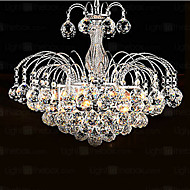 Modern Contemporary Chandelier For Living Room Bedroom Dining Bulb Included