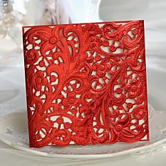 Wedding Invitations Wrap Pocket 50 Invitation Cards Clic Style