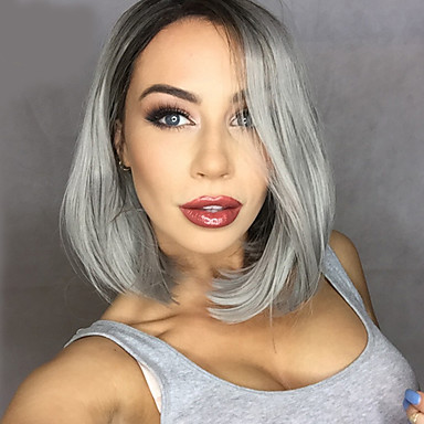 18 Of the Best Wigs for Women | Gray Ombre Wig | Hairstyle on Point