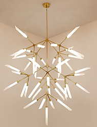 Artistic Chic Modern Chandelier For Living Room Study Office Ac110 240v Bulb Not Included
