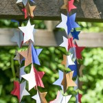 Quick Sew Paper Star Garland Lia Griffith