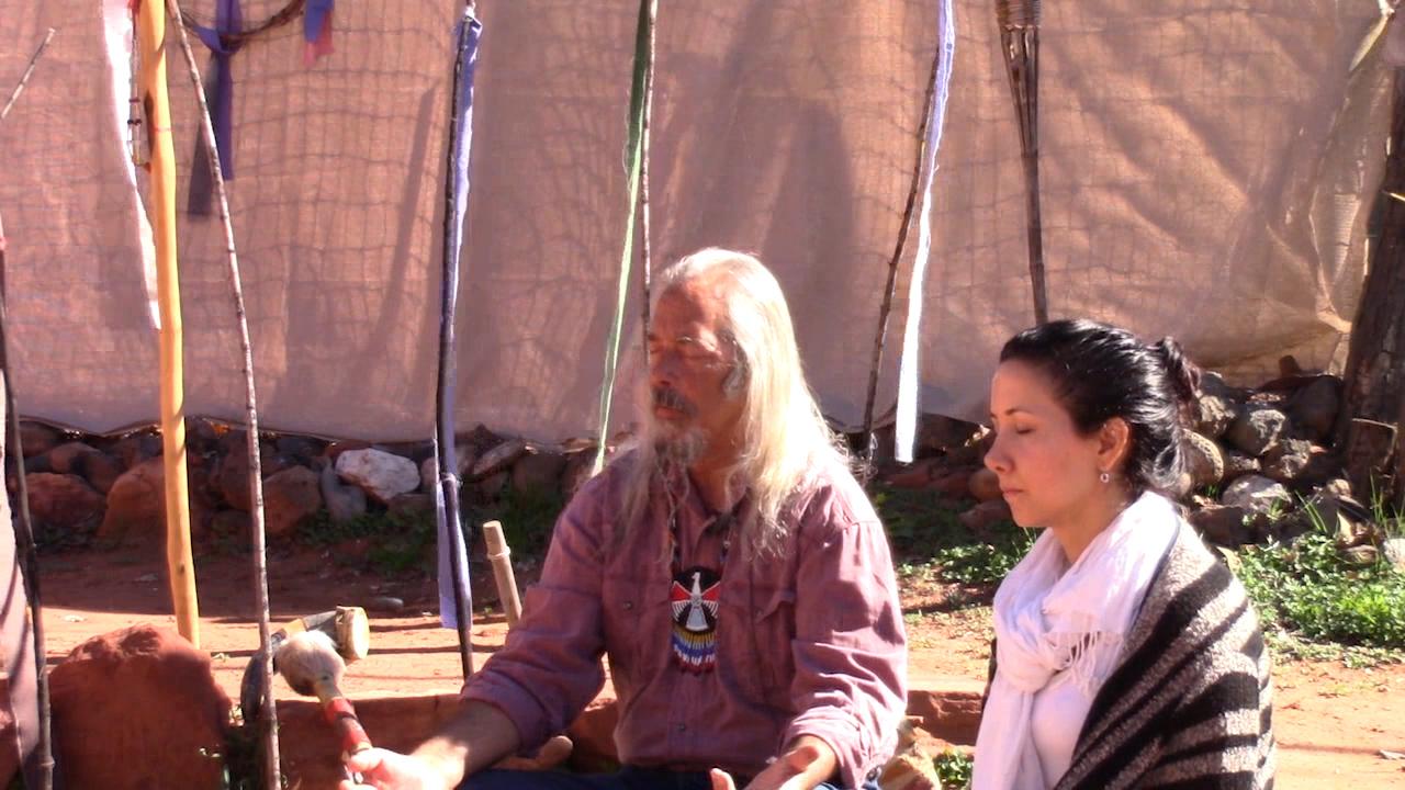 Joseph Greywolf with Lia Andrews