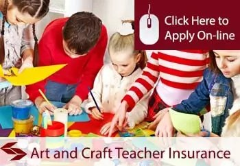 arts and crafts teaching public liability insurance