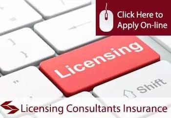 licensing consultants public liability insurance