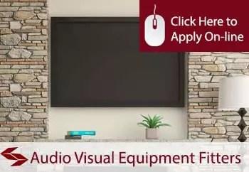 audio visual equipment fitters public liability insurance