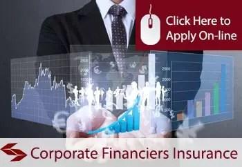 corporate financiers public liability insurance
