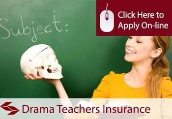 drama teachers public liability insurance