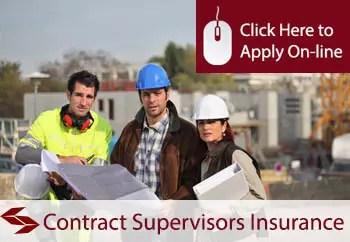 contracts supervisors public liability insurance