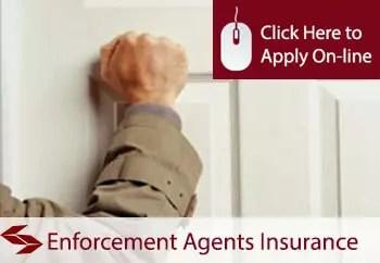 enforcement agents public liability insurance