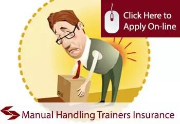manual handling trainers liability insurance