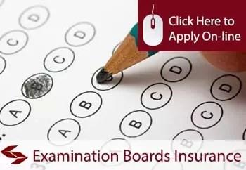 examination boards public liability insurance