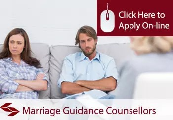 marriage guidance services public liability insurance