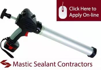 mastic sealant contractors liability insurance