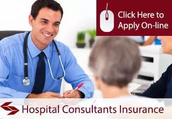 hospital consultants public liability insurance