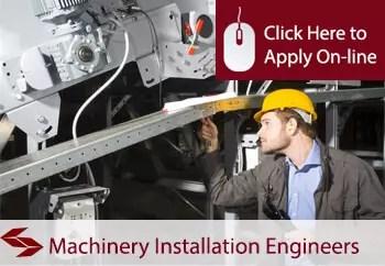 machinery installation engineers liability insurance