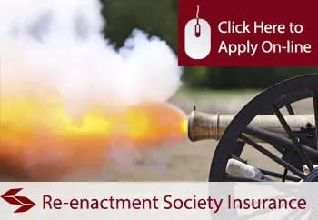 reenactment societies liability insurance