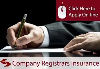 company registrars liability insurance