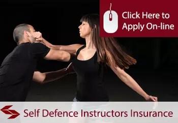 self defence teachers public liability insurance
