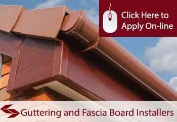 guttering and fascia board installers public liability insurance