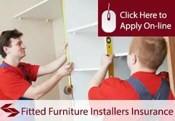fitted furniture installers liability insurance