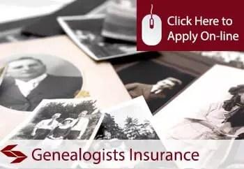 genealogists liability insurance