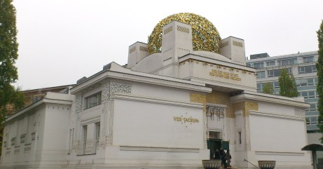 "One of the most important buildings: The Vienna Secession, Above the entrance it's written: ""Der Zeit ihre Kunst. Der Kunst ihre Freiheit."" (""To every age its art. To art its freedom."")."