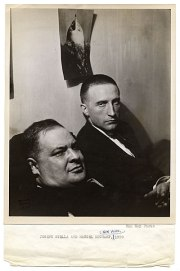 Joseph Stella and Marcel Duchamp, 1920. The next picture hangs on the wall behind Duchamp