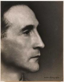Marcel Duchamp, Solarized Portrait, 1930