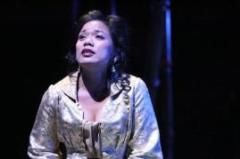 Melody Butiu as Desiree Armfeldt in in East West Players' A LITTLE NIGHT MUSIC by Stephen Sondheim and Hugh Wheeler. Photo by Michael Lamont.