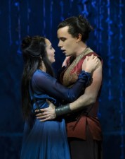 Ashley Park and Conrad Ricamora. Photo by Paul Kolnik