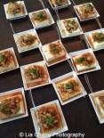Baohaus Szechuan Silken Tofu- fried shallots, spicy radish, scallions, Szechuan vinegar sauce. Photo by Lia Chang
