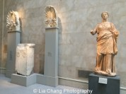 Greek and Roman sculpture at The Metropolitan Museum of Art. Photo by Lia Chang #emptymet