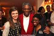 André De Shields two students from his Victory Gardens Master Class at the opening night party of Victory Gardens Theater's 2015 IGNITION Festival of New Plays in Chicago on July 16, 2015. Photo by Lia Chang