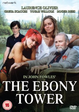 The Ebony Tower featured Roger Rees, Toyah Willcox, Greta Scacchi and Laurence Olivier.