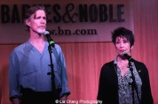 Actors Tom Nelis and Chita Rivera perform at 'The Visit' Broadway cast performance and CD signing at Barnes & Noble, 86th & Lexington on July 9, 2015 in New York City. Photo by Lia Chang