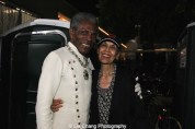 André De Shields and Carmen de Lavallade at The Wiz is 40 at Rumsey Playfield, Summerstage in New York on August 12, 2015. Photo by Lia Chang