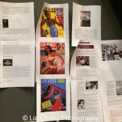 Research to establish the world of August Wilson's Seven Guitars. Photo by Lia Chang