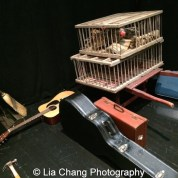 Props for Seven Guitars. Photo by Lia Chang