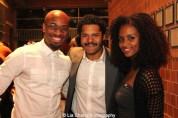 Alex Ubokudom, Brandon J. Dirden and Lakisha May. Photo by Lia Chang