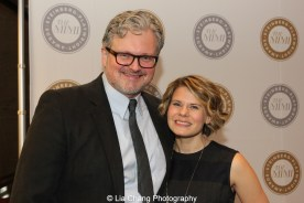 John Ellison Conlee and his wife Celia Keenan-Bolger attend the 2015 Steinberg Playwright Awards on November 16, 2015 in New York City. Photo by Lia Chang