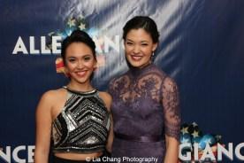 Bellinda Allyn and Manna Nichols. Photo by Lia Chang