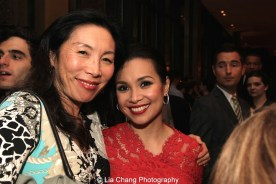 Jodi Long and Lea Salonga appeared in David Henry Hwang's revisal of Flower Drum Song. Photo by Lia Chang