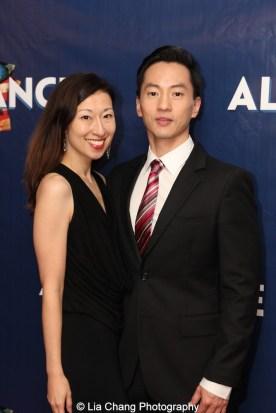 Kim Varhola and her husband Michael K. Lee. Photo by Lia Chang