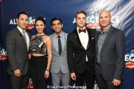 Marcus Choi, Belinda Allyn, Aaron J. Albano, Dan Horn and Owen Johnston II. Photo by Lia Chang