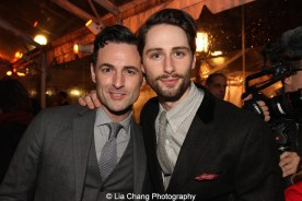 Max Von Essen and guest. Photo by Lia Chang