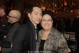 Michael K. Lee and Ann Safran Dalin. Photo by Lia Chang