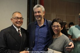 Arlan Huang, Colin Lee and Helen Oji. Photo by Lia Chang