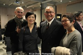 Charles Luce, Hung Sui Ying, Arlan Huang and Helan Oji. Photo by Lia Chang