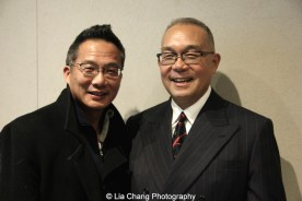 Eric But and Arlan Huang. Photo by Lia Chang